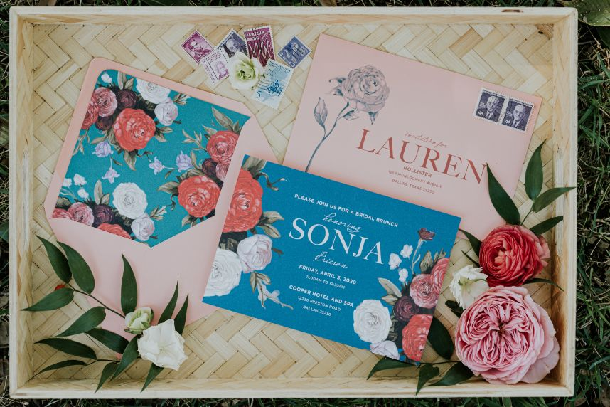 bridal brunch invite