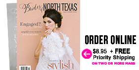 Order Magazine New Brides of North Texas Spring/Summer 2020 Issue Online