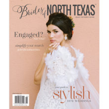 Brides of North Texas 2020 Spring/Summer Cover