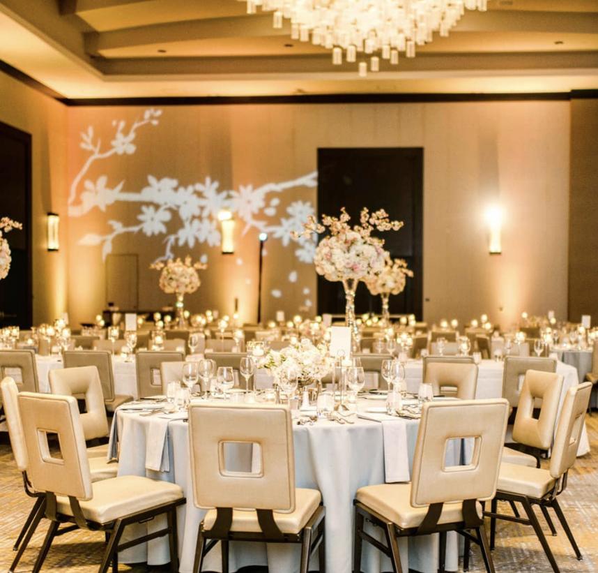 Hilton Dallas granite park wedding venue