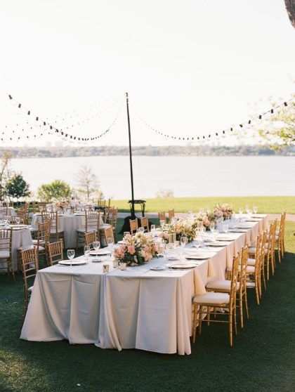 Dallas arboretum waterfront wedding venue