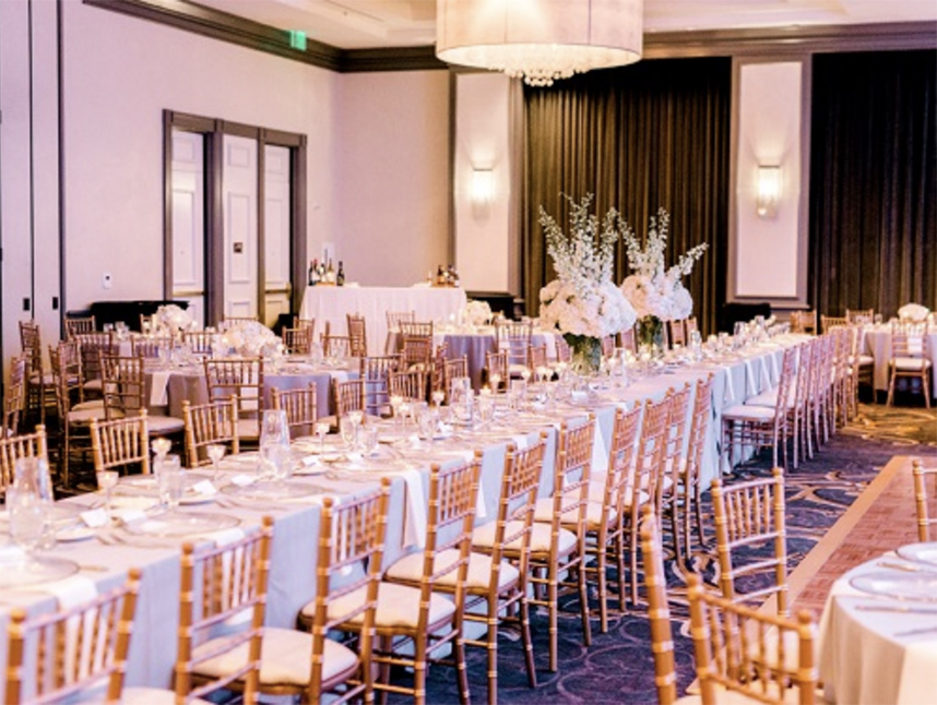hilton dallas park cities ballroom wedding