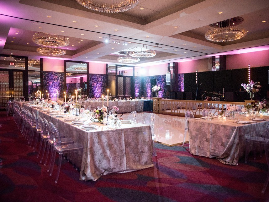 The Joule dallas ballroom wedding