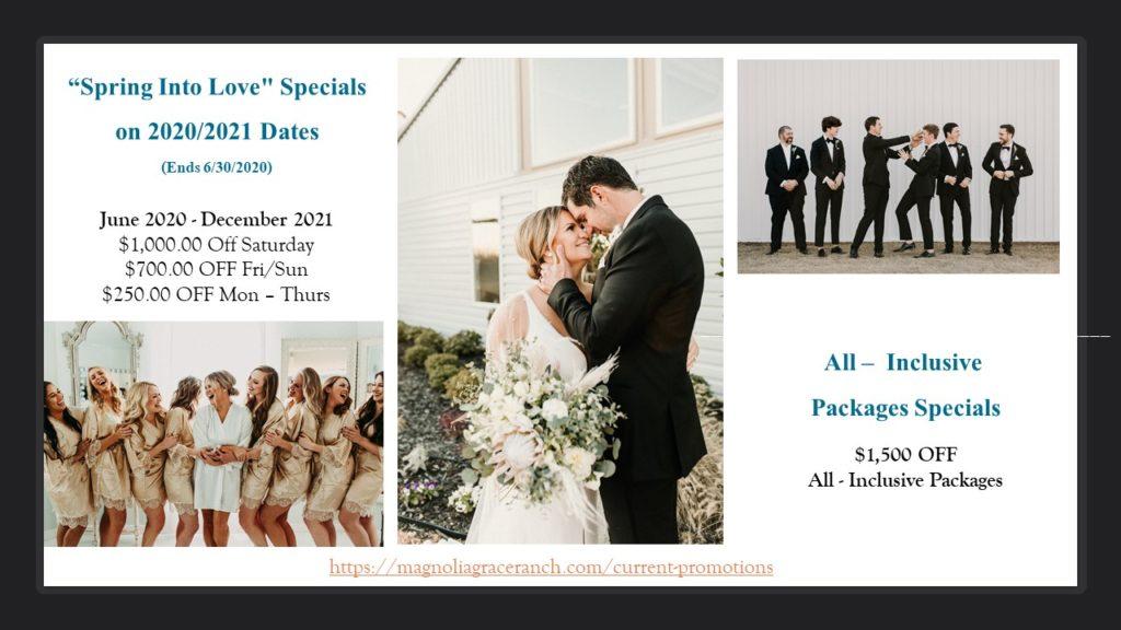 Magnolia Grace Ranch - North Texas Wedding Venues