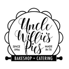 Uncle Willie's Pies Bakeshop & Catering Favors, Cakes & Desserts