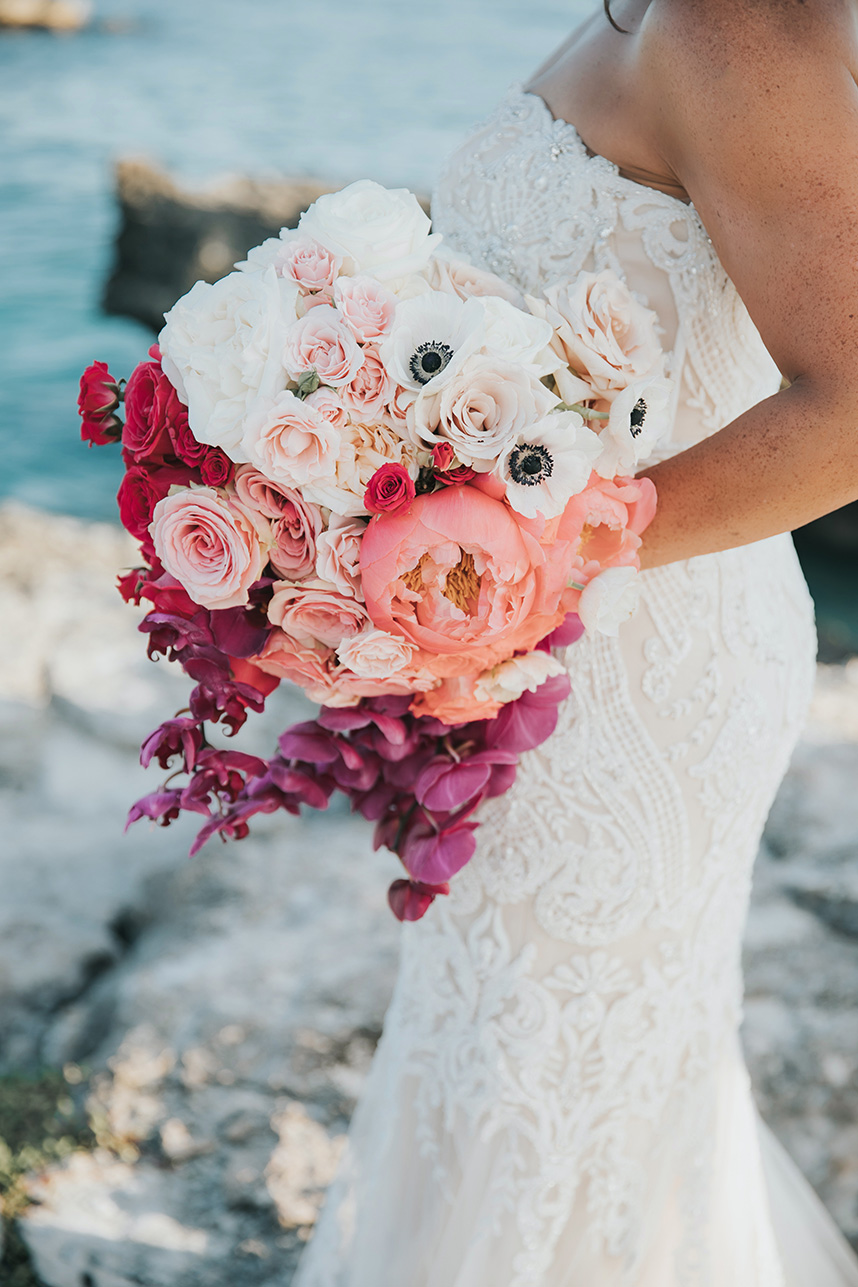 destination wedding bouquet