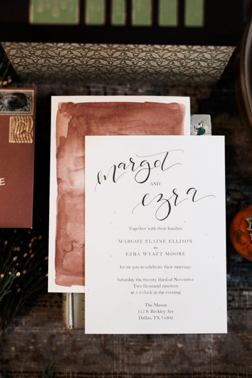 watercolor detail 2021 wedding trends