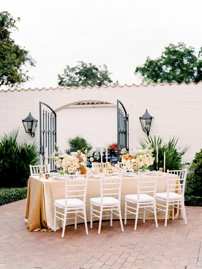 textural elements 2021 wedding trends