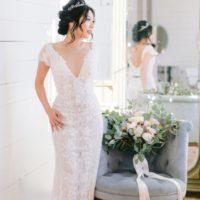 Vintage Elegance Styled Wedding Inspiration North Texas Wedding Photographer Stephanie Michelle Photography North Texas Wedding Linens Rentals AM Linen Rental