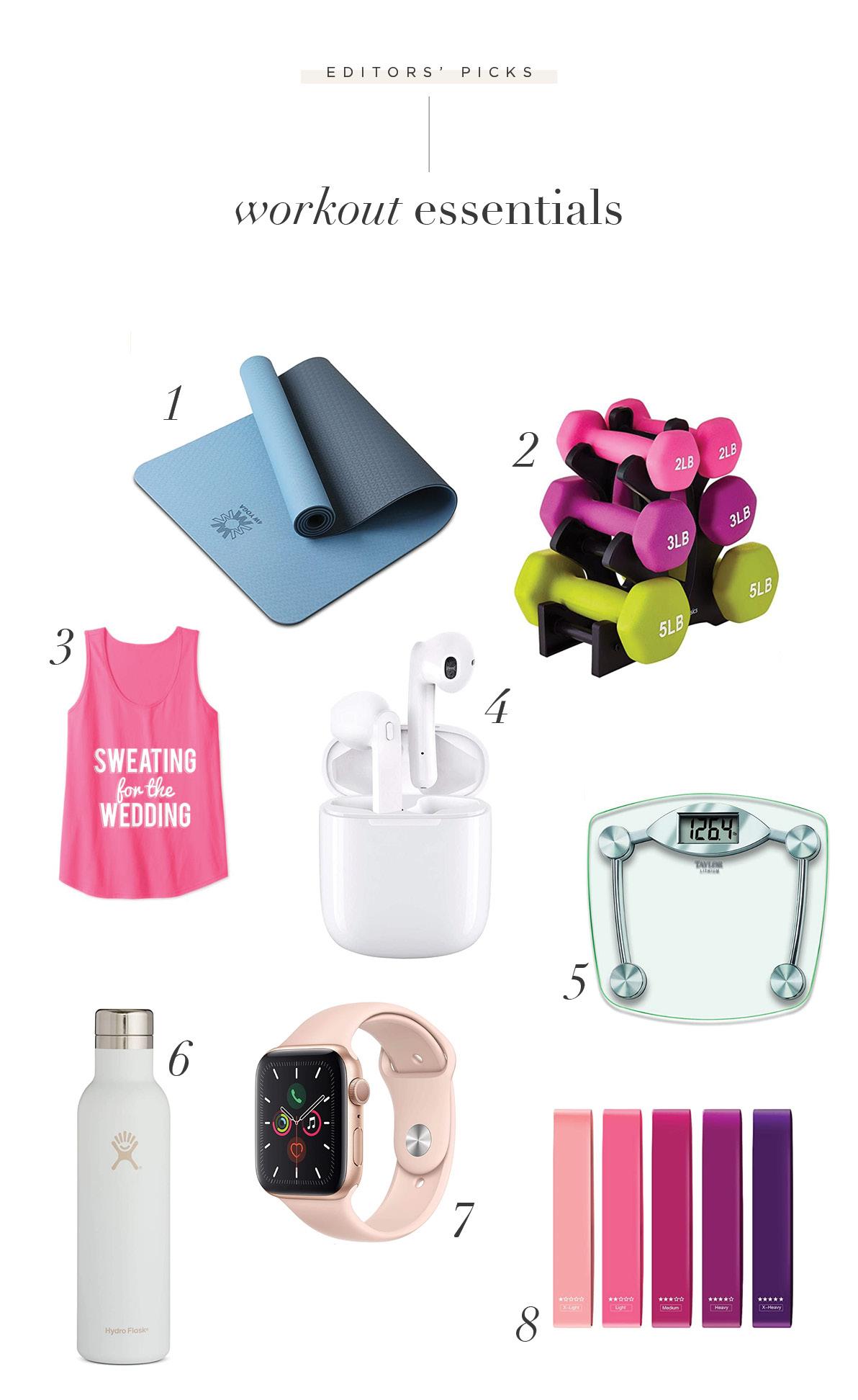 pre-wedding workout essentials