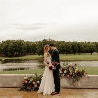 Moody Romance Wedding Inspiration North Texas Wedding Venue Margot Hill Weddings and Events North Texas Wedding Florist Floral Design Kate McLeod Studio