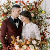 Timeless Autumnal Wedding Inspiration North Texas Wedding Florist Flowers Event Stems Floral North Texas Wedding Dress Bridal Gown Shop a&be bridal shop