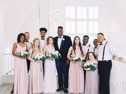 bridal party attire