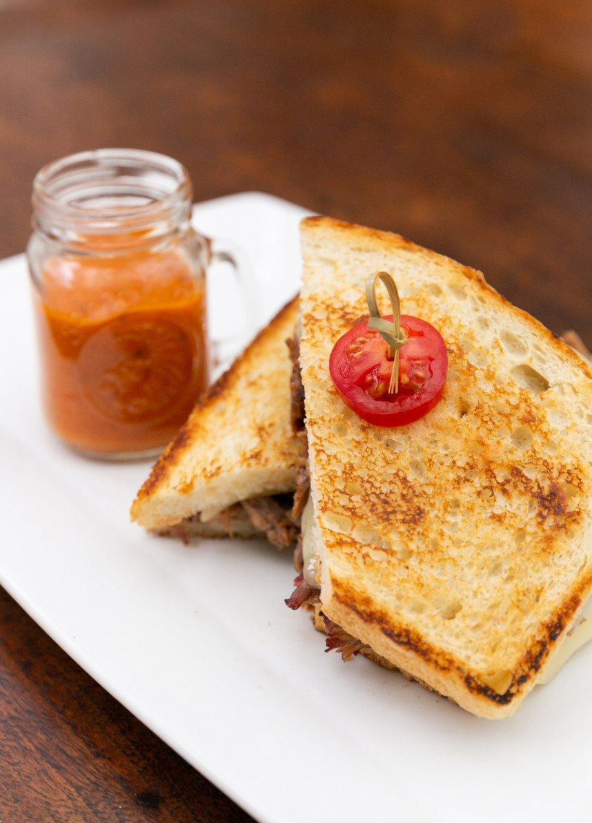 soulman's catering grilled cheese tomato soup