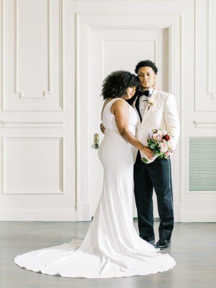 Simplistic Romance Wedding Inspiration North Texas Wedding Planner Blissful Weddings & Events North Texas Wedding Decor Rentals POSH Couture Rentals