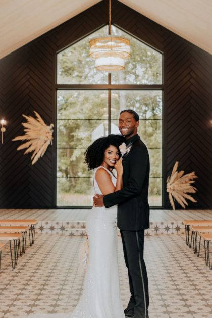 Minimalist Boho Wedding Inspiration North Texas Wedding Planner Florist Blissful Weddings & Events North Texas Wedding Gown a&be bridal shop