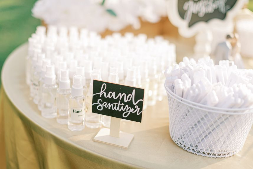 ways to keep your wedding guests safe