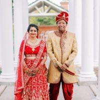 hindu wedding, Korean groom