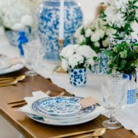 Chinoiserie Filled Wedding Inspiration North Texas Wedding Venue The French Farmhouse Venue North Texas Wedding Photographer Sami Kathryn Photography