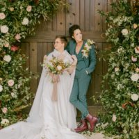 Jewel-Toned Elopement Editorial North Texas Wedding Venue Umbra Winery at La Buena Vida Vineyards North Texas Wedding Photographer Sara Boyd Photography