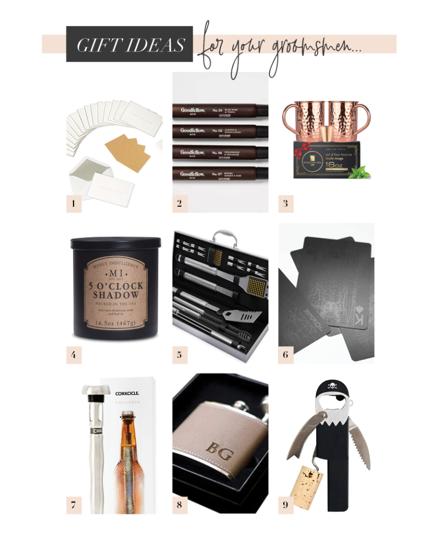 Budget Friendly Gift Ideas for your Bridal Party