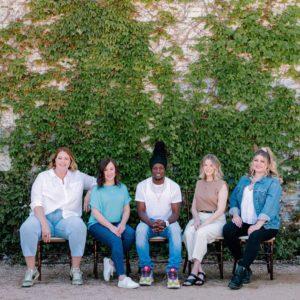 Headshot Lynsie, Christy, Brandon, Kristen, and McLaren