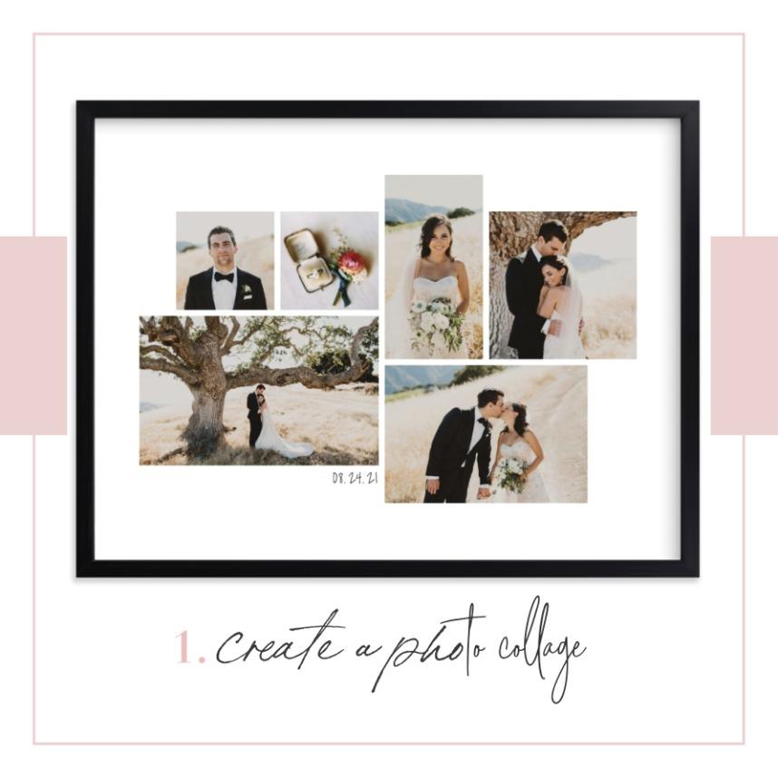 Creative Ways to Display Your Wedding Photos