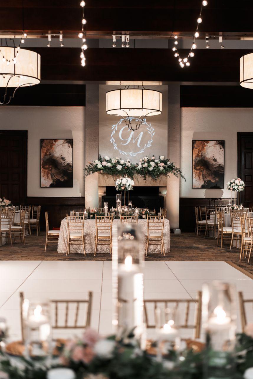 well-lit wedding